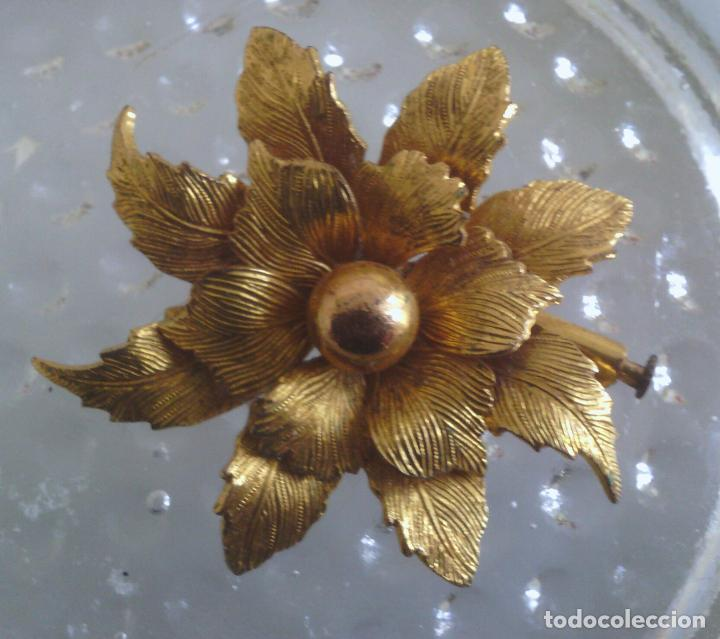 Joyeria: Broche de Flor - dorado - preciosa !!! - Foto 5 - 114478243