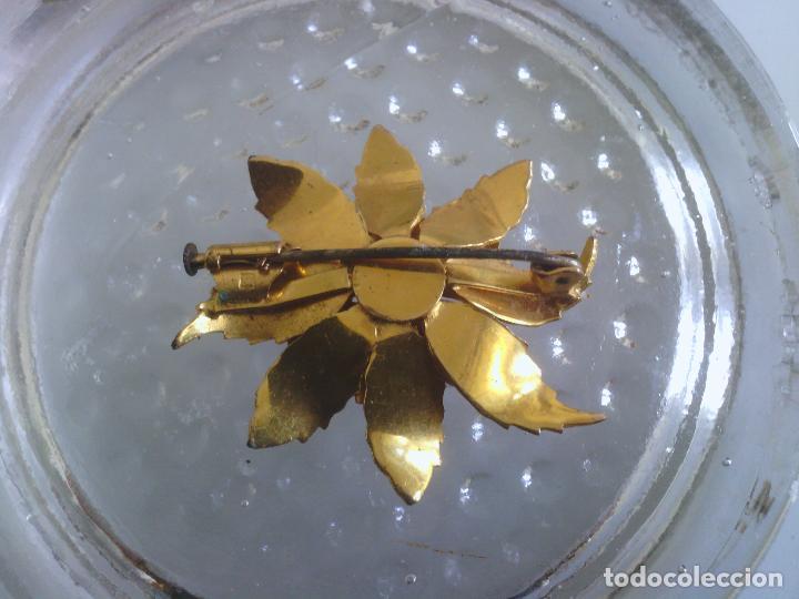 Joyeria: Broche de Flor - dorado - preciosa !!! - Foto 6 - 114478243