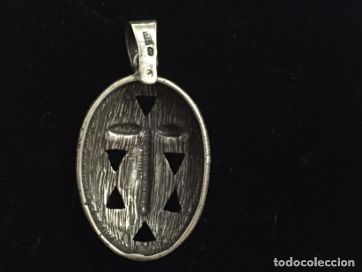 Joyeria: Colgante tribal de plata envejecida - Foto 2 - 116559423