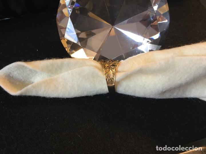 Joyeria: Antigua sortija estilo isabelino en plata de ley - Foto 3 - 117127810