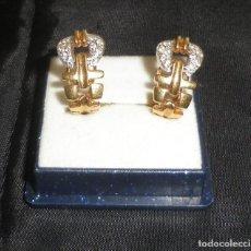 Joyeria - pendientes dorados con piedras semipreciosas - 119998695