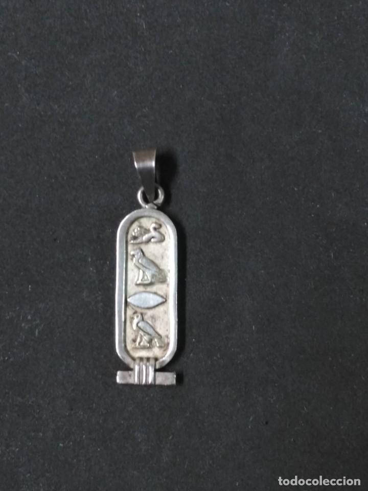 Joyeria: COLGANTE DE PLATA EGIPCIO - Foto 9 - 120435199