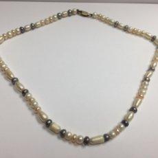 Schmuck - Collar de perlas de río - 125402243