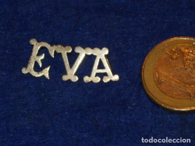 Joyeria: COLGANTE DE LETRAS CON NOMBRE EVA.PLATA. - Foto 2 - 128162111