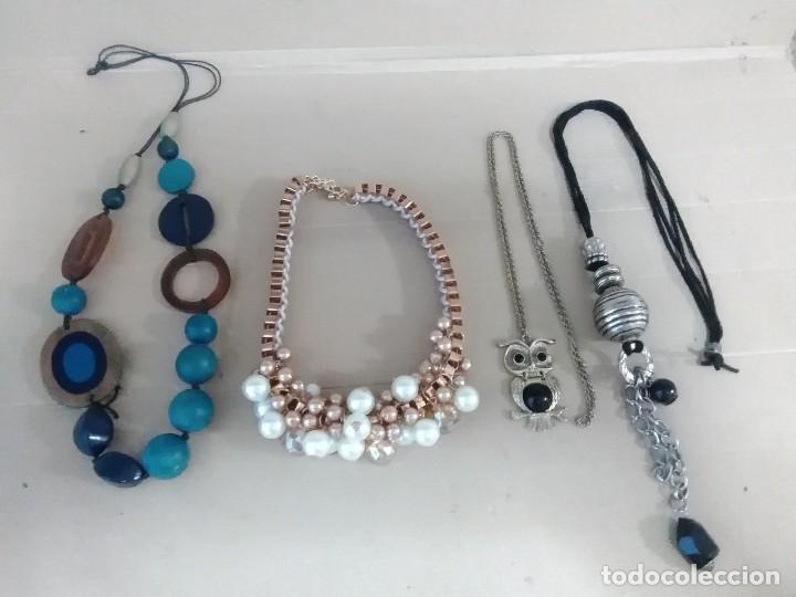 af89a387d433 4 collares bisutería - Buy Fashion Jewelry at todocoleccion - 128283887