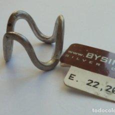 Joyeria: ANILLO VINTAGE PLATA DE 925 MM MUY ORIGINAL DE LA MARCA ITALIANA BY SIMON, COSTABA 22,20 EUROS. Lote 128376107