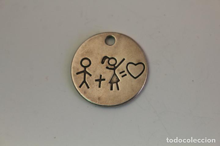 Joyeria: medalla colgante en plata de ley - Foto 2 - 128405031