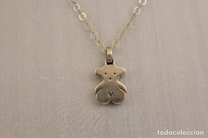 e714038e40b7 Collar tous cadena y colgante en plata de ley - Vendido en Subasta ...