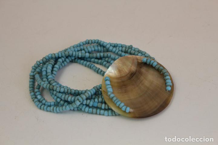 Joyeria: pulsera azul y nacar NATURAL - Foto 2 - 128838395