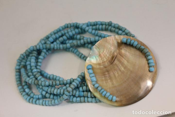 Joyeria: pulsera azul y nacar NATURAL - Foto 4 - 128838395