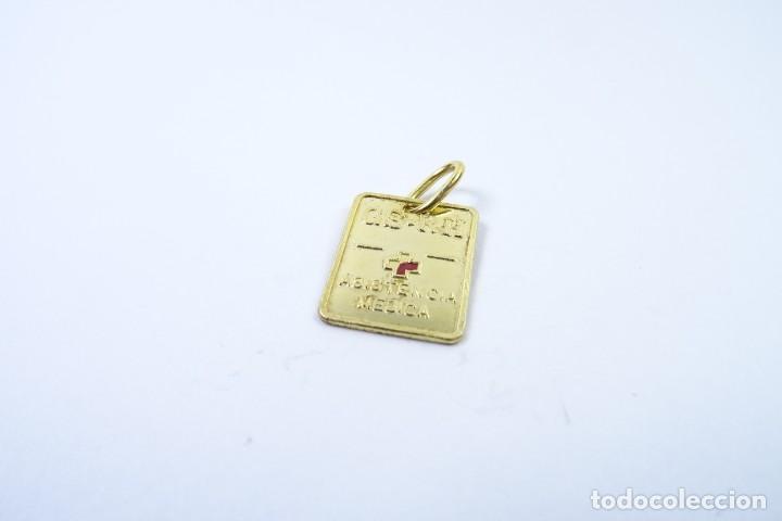 Joyeria: Colgante Chapa en oro de 14 quilates para Control Médico - Foto 2 - 131591146