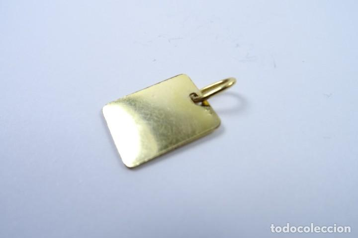 Joyeria: Colgante Chapa en oro de 14 quilates para Control Médico - Foto 3 - 131591146