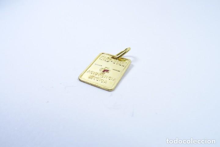 Joyeria: Colgante Chapa en oro de 14 quilates para Control Médico - Foto 4 - 131591146
