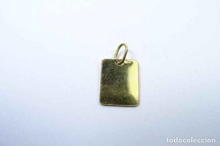 Joyeria: Colgante Chapa en oro de 14 quilates para Control Médico - Foto 5 - 131591146