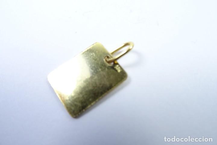Joyeria: Colgante Chapa en oro de 14 quilates para Control Médico - Foto 6 - 131591146