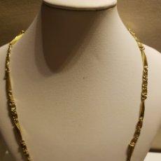 Joyeria: CADENA DE GOLDFILLED LABRADA MACIZA 50 CM. Lote 131874230