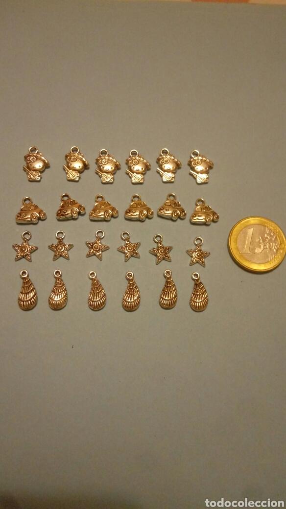 8d5bc529d8e7 Lote de 24 charms abalorios para pulseras pendientes etc