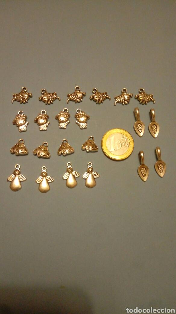 826b61bcf9ea Lote de 22 piezas charms abalorios para pulseras pendientes etc