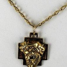 Joyeria: CADENA CON FAZ DE CRISTO CON CADENA DE GOLD-FILLED 14 K. Lote 134320670