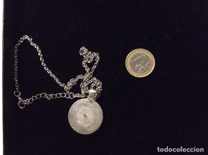 Joyeria: colgante con cadena de metal plateado. Estrellas de mar - Foto 3 - 136454942