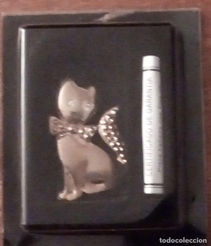 Joyeria: Broche forma de gato con flash de oro 24 kilates - Foto 2 - 136534350