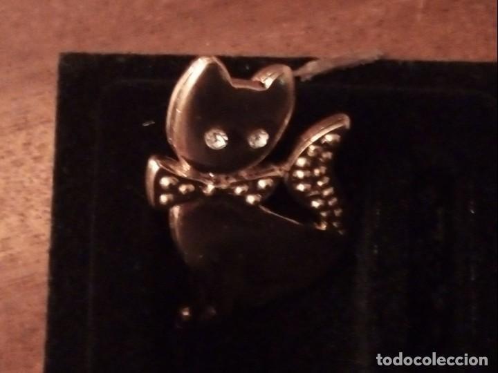 Joyeria: Broche forma de gato con flash de oro 24 kilates - Foto 5 - 136534350
