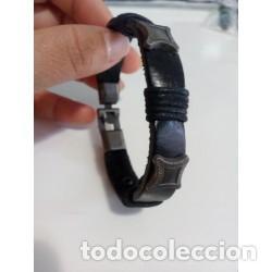 Joyeria: Pulsera Cuero Hombre Rectángulo - Foto 3 - 137140602