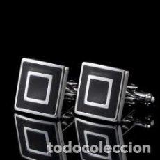 Joyeria: GEMELOS CUADRADOS. Lote 137141570