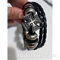 Joyeria: Pulsera Cuero Hombre Cruz - Foto 3 - 137150090