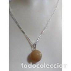 Schmuck - Collar Colgante Piedra Natural Jade - 137232130