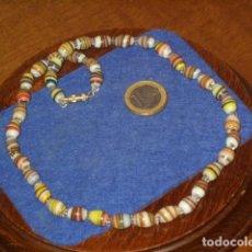 Joyeria: COLLAR DE CRISTAL DE MURANO.. Lote 137250122