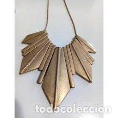 Joyeria: COLLAR COLGANTES DORADOS CON PUNTAS. Lote 137771506
