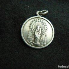 Joyeria: ANTIGUA MEDALLA RELIGIOSA DE PLATA DE LEY 900 PESO 2,2 G LARGO 2,5 CM. Lote 138071438