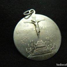 Joyeria: ANTIGUA MEDALLA RELIGIOSA DE PLATA DE LEY 900 PESO 6,78G LARGO 4 CM. Lote 138072626