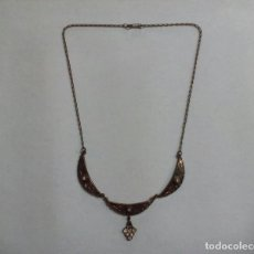 Joaillerie: COLLAR AÑOS 30/40 BRONCE. Lote 141579878