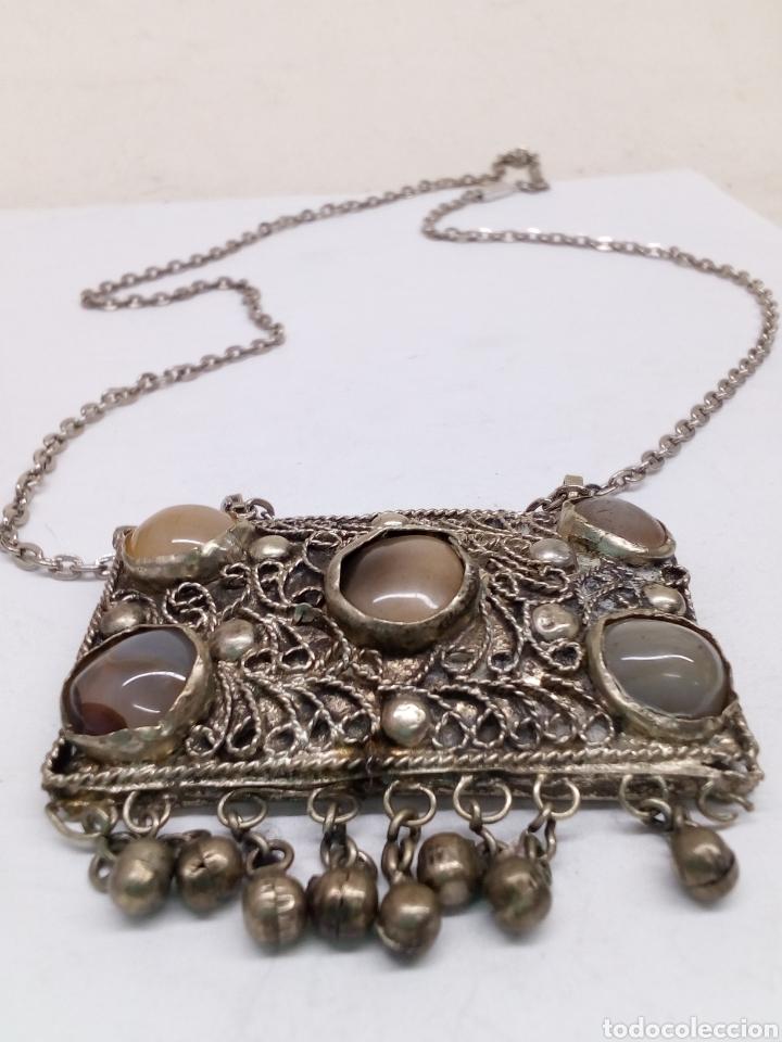 Joyeria: Collar con colgante piedras naturales - Foto 2 - 142590464