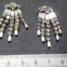 Joyeria: BONITOS PENDIENTES DIAMOND BRAND. AÑOS 60/70.. Lote 142640718