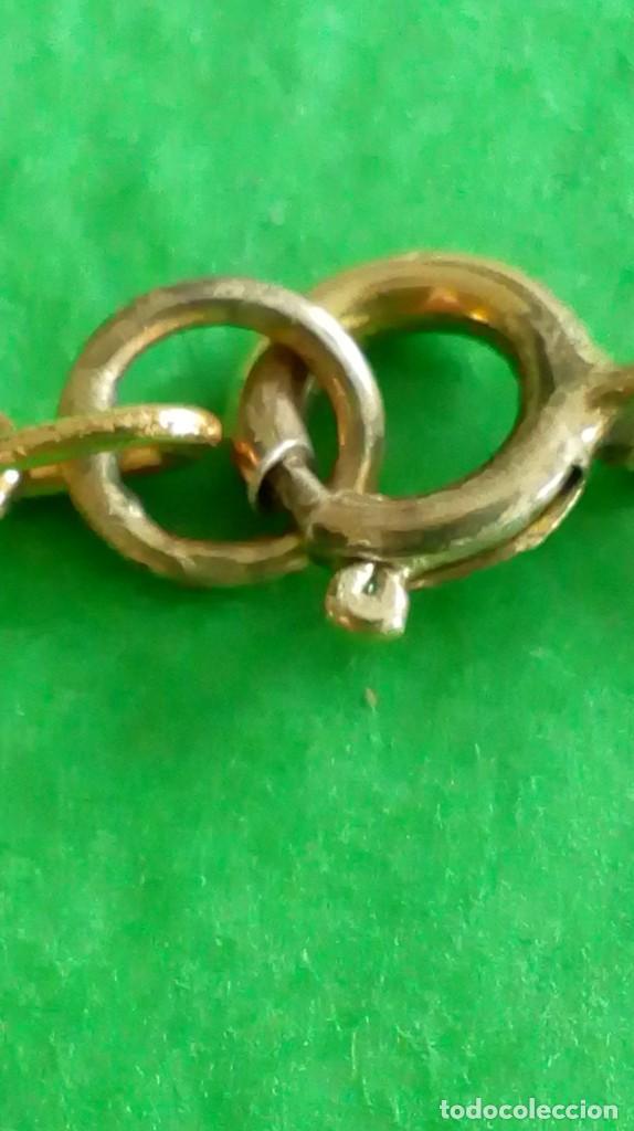 Joyeria: Collar dorado con cristales de colores - Foto 2 - 142830702