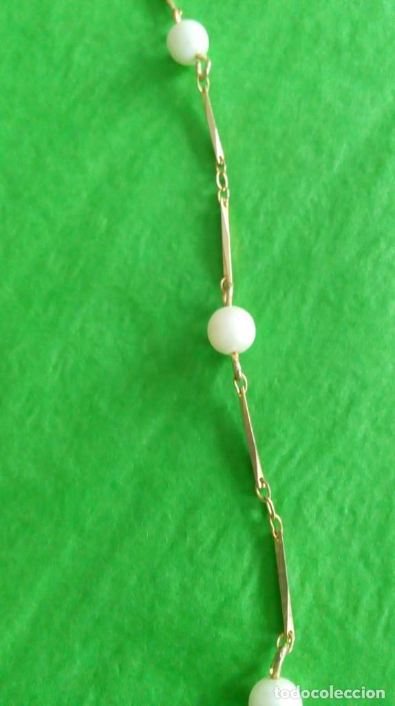 Joyeria: Gargantilla dorada y perlas - Foto 2 - 142830910