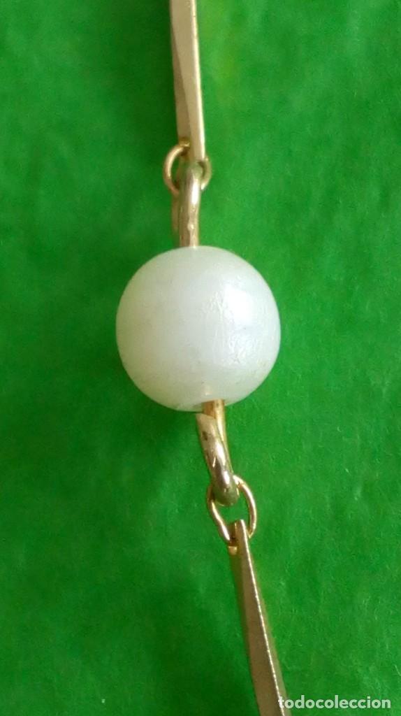 Joyeria: Gargantilla dorada y perlas - Foto 3 - 142830910