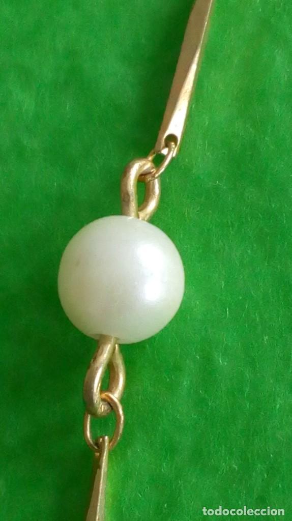 Joyeria: Gargantilla dorada y perlas - Foto 4 - 142830910