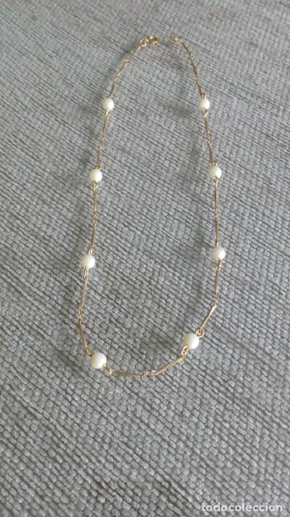 Joyeria: Gargantilla dorada y perlas - Foto 7 - 142830910