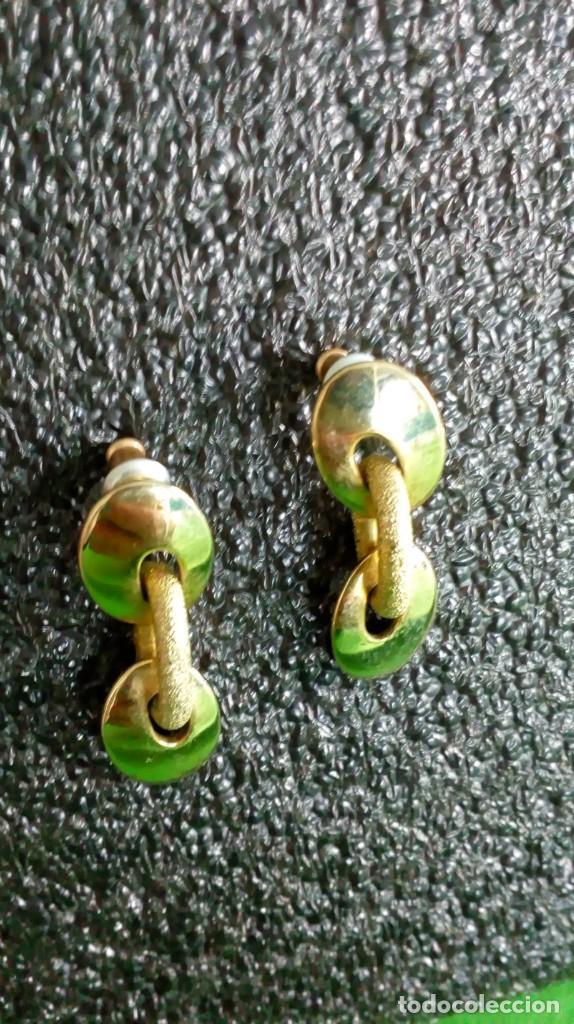 Joyeria: Pendientes dorados ´MONET´ - Foto 2 - 142833002