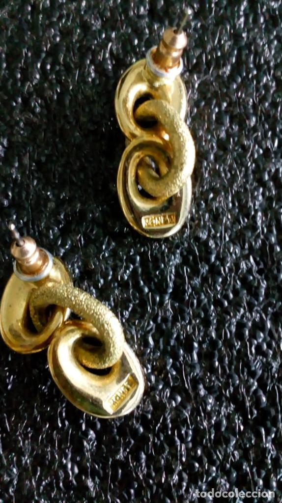 Joyeria: Pendientes dorados ´MONET´ - Foto 5 - 142833002
