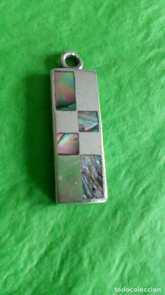 Joyeria: Colgante de plata y nácar - Foto 4 - 142833122