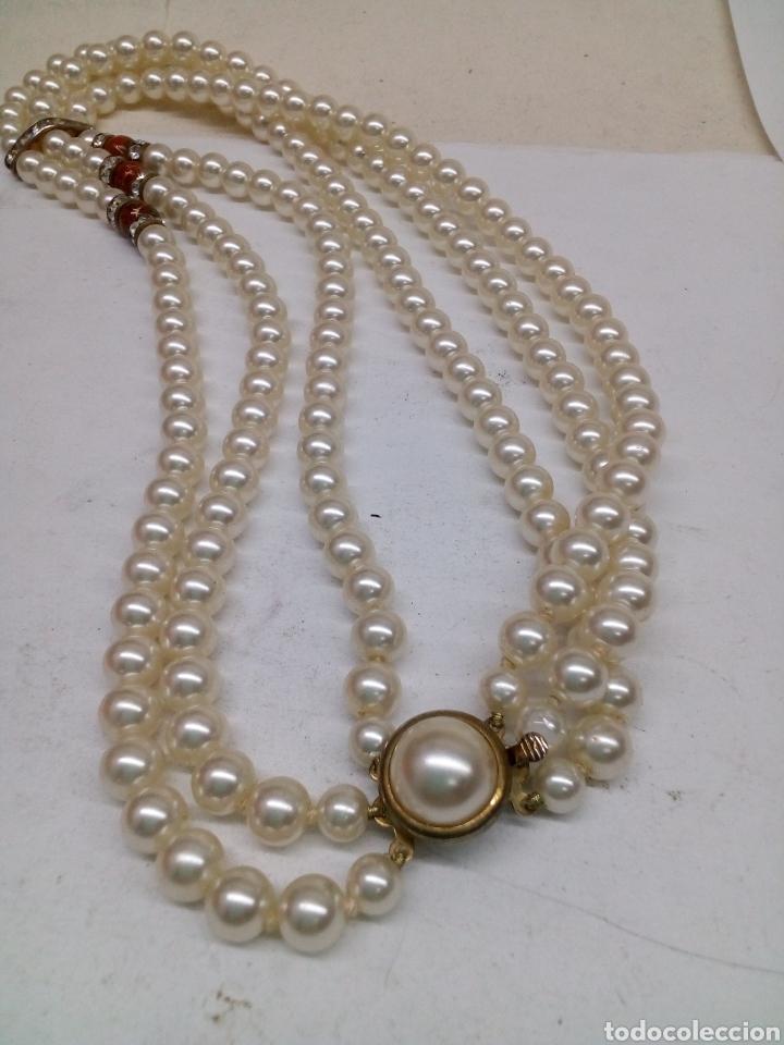 bastante agradable 647d8 8ad7c Collar PERLAS