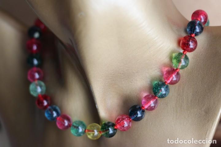 c702b096eb0d collar de turmalinas o jade multicolor - Comprar Bisuteria en ...