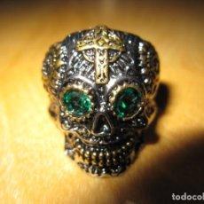 Joyeria: ANILLO CALAVERA MEXICANA. Lote 151480149