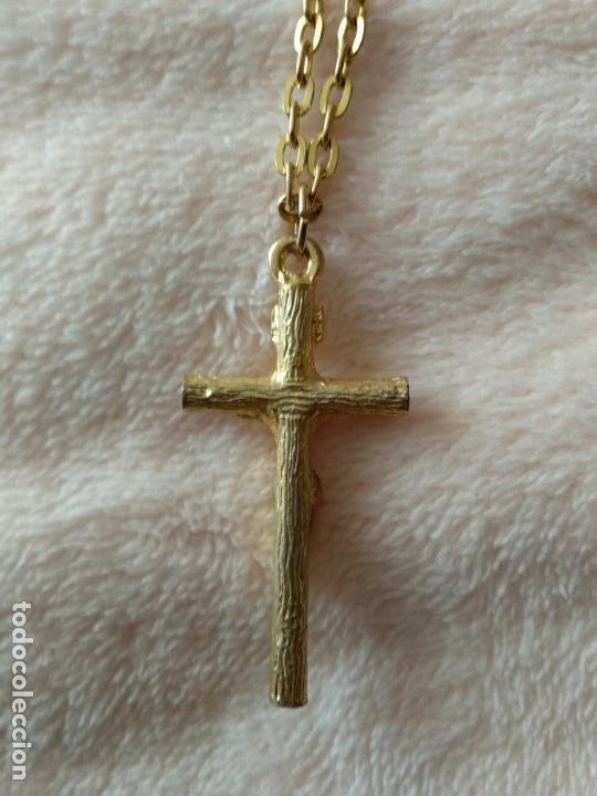 Joyeria: Cadena de bisutería con Cristo - Foto 2 - 148668010