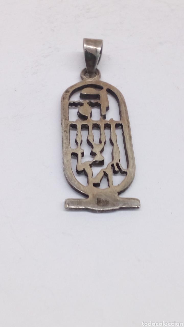 Joyeria: Colgante de plata egipcio - Foto 2 - 150126614